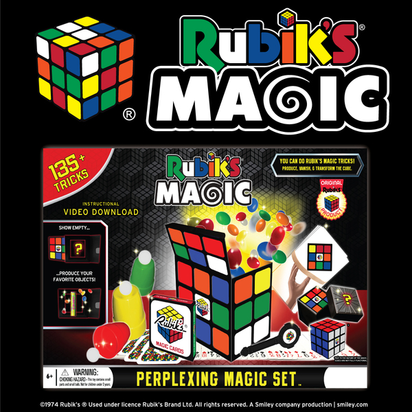 MAGIC SET--RUBIK'S PERPLEXING SET