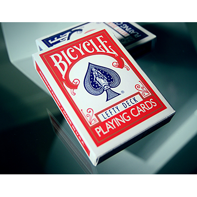 PLAYING CARDS--BICYCLE LEFTY DECK, RED