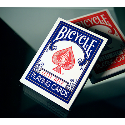 PLAYING CARDS--BICYCLE LEFTY DECK, BLUE