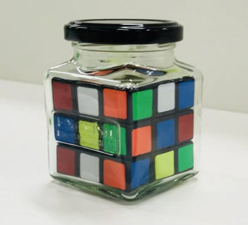 IMPOSSIBLE CUBE IN A JAR