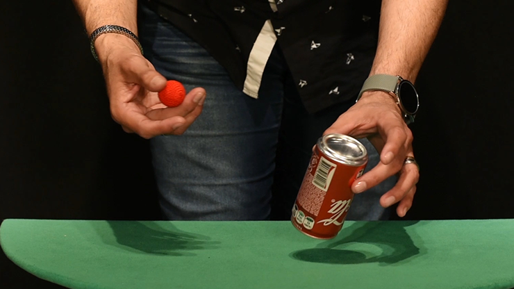 CHOP CUP--MINI COKE CAN