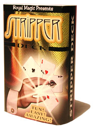 STRIPPER DECK--BICYCLE, RED