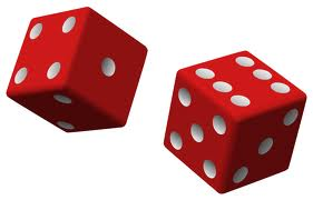 "DICE--5/8"" RED"