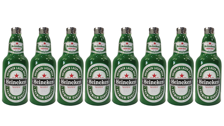 MULTIPLYING HEINEKEN BOTTLES