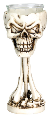 BONEHEAD VOTIVE HOLDER