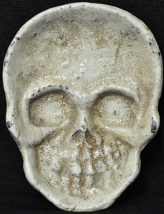 CREEPY SKULL COIN DISH